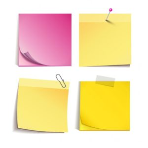 Post-it versek